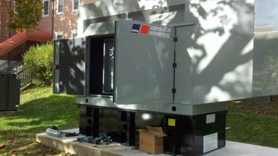Commercial Generator Installation