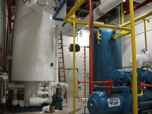food industry engine room wiring